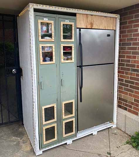 Augustana Church, located at 5500 S. Woodlawn, now has a Love Fridge, the food-sharing collective. The goal of the Love ...