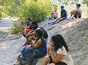 """A new hiking program geared to Black kids and other young people of color build positive memories out in nature. """"We talk about safe spaces and how nature clears your mind,' said J'reyesha Brannon, chair of the Portland NAACP's Environmental Justice committee, a lead organizer of the program."""
