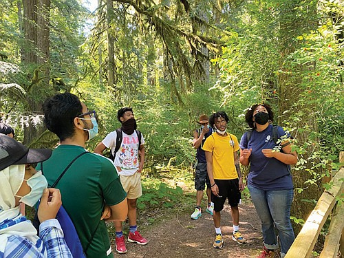 Black and brown kids haven't always felt safe or welcome in the outdoors, but the Portland NAACP and Metro have ...