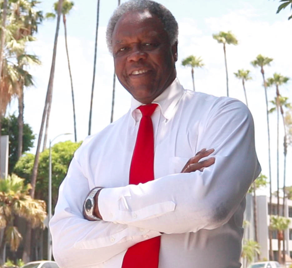 Mel Wilson is running for Mayor of Los Angeles...