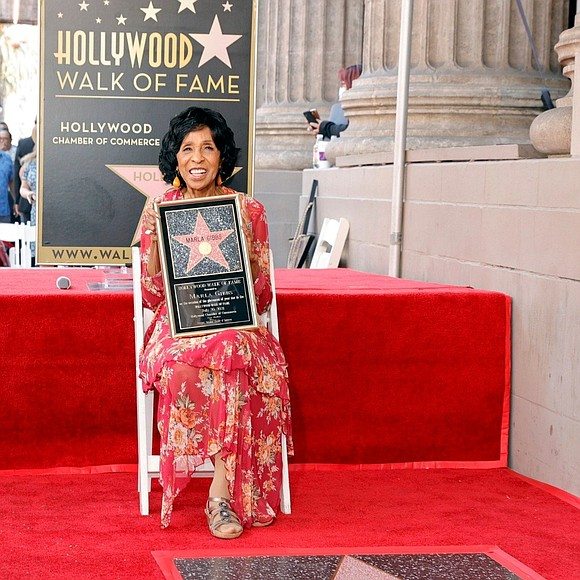 Marla Gibbs is being celebrated on the Hollywood Walk of Fame...