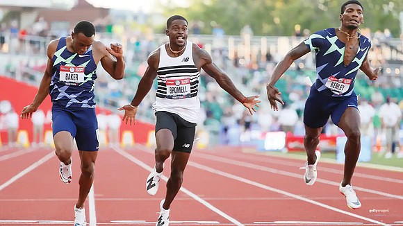 Trayvon Bromell's first trip to the Olympics ended with no medals, a painful injury and a ride out of the ...
