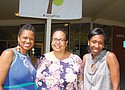 Marsha Williams (from left), Zalika Gardner and Kali Thorne-Ladd, founders of KairosPDX, are pictured in a Portland Observer photo from 2018. It was announced Friday that Williams will become the school's new executive director as Thorne-Ladd moves to a new position as executive director of the Children's Institute.