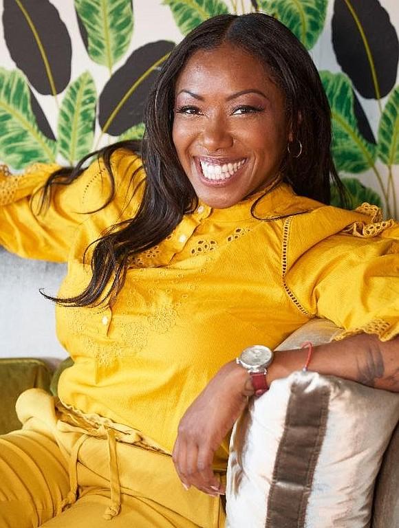 Chef Nyesha Arrington is representing Los Angeles...