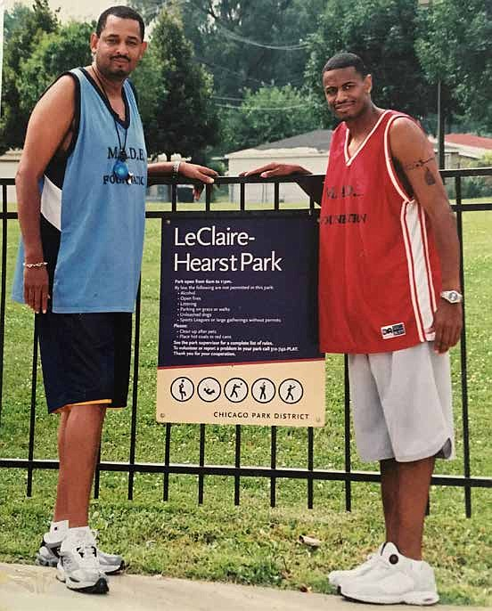 Theo Hill founded M.A.D.E. Foundation 20 years ago because he wanted to make a difference in the lives of young girls and boys through the sport of basketball. Photos provided by Theo Hill