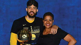 Pamela McGee helped the United States win an Olympic gold medal for basketball. Now her son, JaVale McGee, is in ...