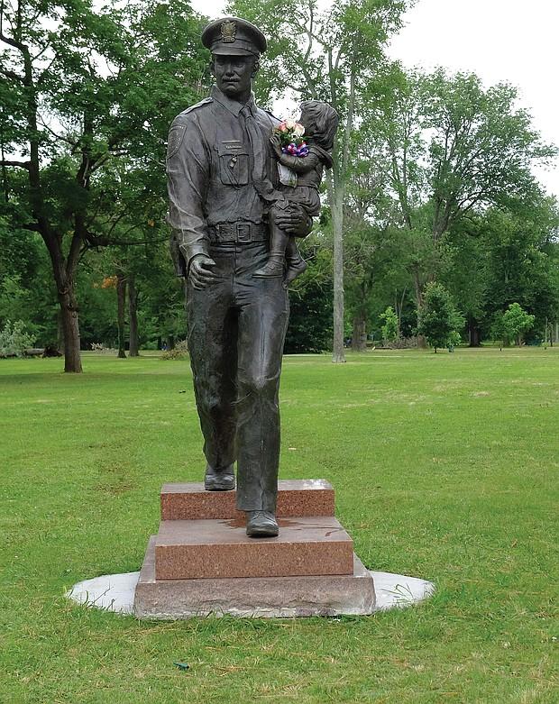Police statue