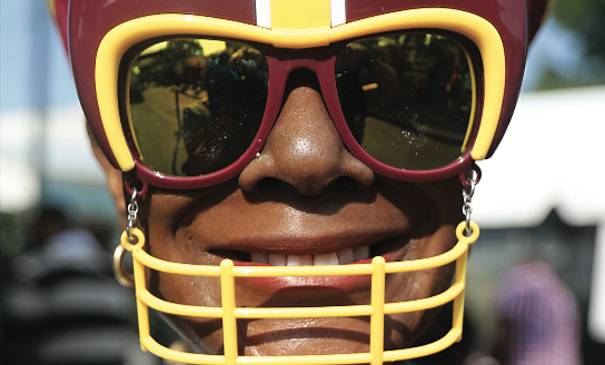 Welcoming the burgundy and gold/There's no doubt that the Washington Football Team has real diehard fans in Richmond. After a year's hiatus because of COVID-19, the NFL team received a big welcome back to its Richmond training camp on Wednesday by fans who turned out in droves.  Many wore the team colors of burgundy and gold. Dorann Jones-Coleman of Glen Allen dressed in her WFT gear and matching sunglasses to support the team she has been cheering on for more than 20 years.