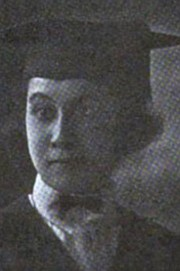 """Otelia Shields Howard, from a 1921 graduation photograph in """"The Crisis."""""""