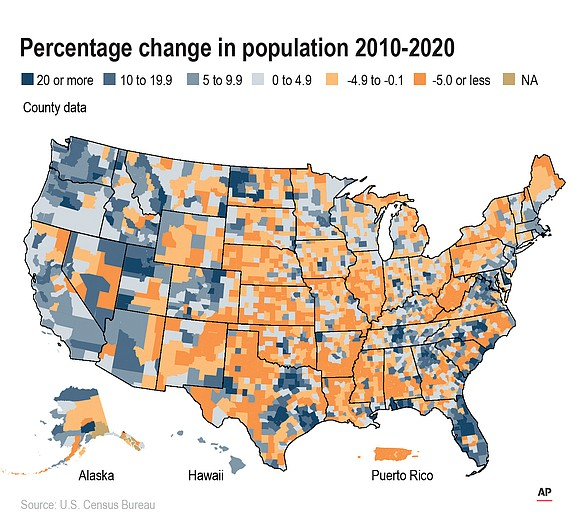 The 2020 U.S. Census did not surprise anyone when it confirmed what everyone can see with their own eyes— Richmond's ...