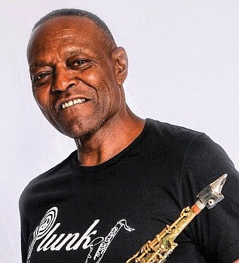 """Plunky & Oneness, the funk and smooth jazz band led by saxophonist James """"Plunky"""" Branch, wants to help people get ..."""