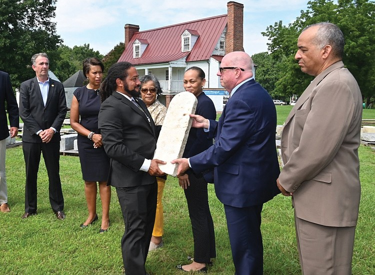 Headstones from Historic African-American Ceremony in Virginia to be Relocated
