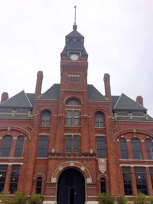 The Clocktower, also known as the Factory Administration Building at Pullman National Monument, is part of the grand opening of the site. Photo provided by Pullman National Monument