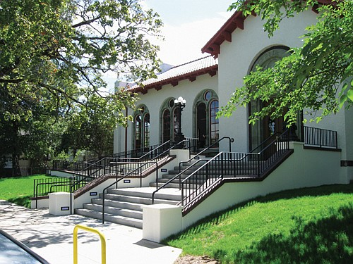 The Albina Library has moved back to its historic home at 216 N.E. Knott St. Photo courtesy Multnomah County Library system.