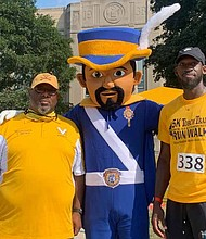 The CVS Alumni Association supported the Chicago Vocational High School's Athletic Department with a 5K walk and run. Photos provided by Melanie Brown