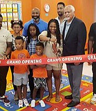 Kiley Russell opened Kemit Academy, located at 5100 S. Dorchester, at the end of July. The day care center offers therapeutic services to children and families with different needs. Photos provided by Kiley Russell
