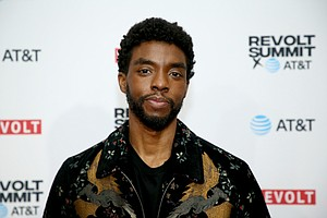 Chadwick Boseman died of colon cancer last year at age 43. Mandatory Credit:Phillip Faraone/REVOLT/Getty Images