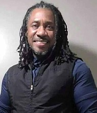 Christopher Edwards is the founder of Back on T.R.A.C., a non-profit organization with a mission to provide mentorship, education and housing to young adults and homeless women veterans through community partnerships. Photo provided by Christopher Edwards