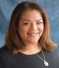 Stacy Jackson is the president of Chicago Lights, a non-profit organization that provided education assistance and career development training to young people, as well as provides housing assistance to those experiencing homelessness. Photo provided by Madie Holland