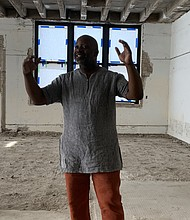 Theaster Gates, artist and founder of Rebuild Foundation, is transforming an old elementary school into a creative incubator. Tia Carol Jones
