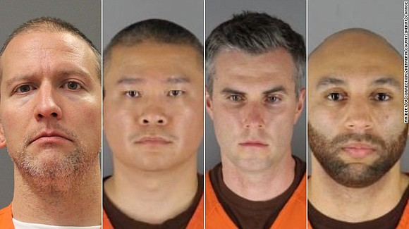 Four former Minneapolis police officers charged with violating George Floyd's civil rights pleaded not guilty Tuesday to the federal charges ...