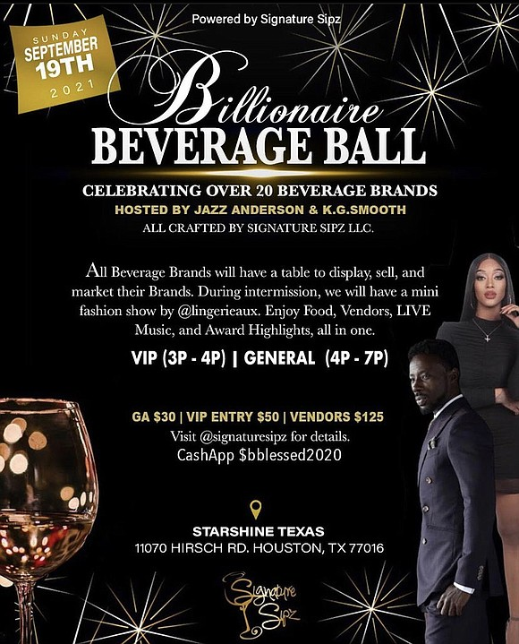 Local black-owned and operated beverage company is slated to bring over 23 curated Brands together under one roof for the ...