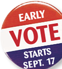 The future direction of Virginia's government is now in the hands of voters, with early voting cranking up on Friday, ...