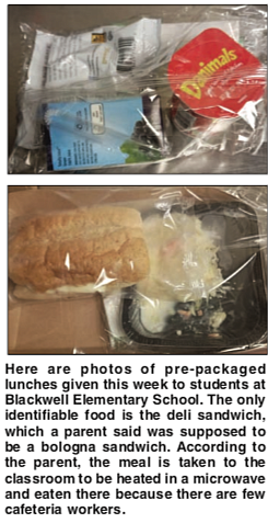 Richmond Public Schools reopened last week and school trash cans are overflowing with rejected prepackaged lunches that students would rather ...