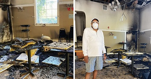 A gofundme.com campaign is underway to help raise donations to make repairs to the Billy Webb Elks Lodge, a landmark ...