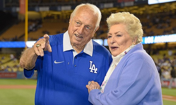 Jo Lasorda, the widow of former Los Angeles Dodgers manager Tommy Lasorda, died this week at...