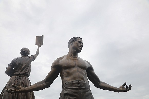 """""""Overwhelming!"""" """"Excited!"""" """"Proud!"""" Those were some of the comments from onlookers as they viewed the state's new """"Emancipation and Freedom ..."""