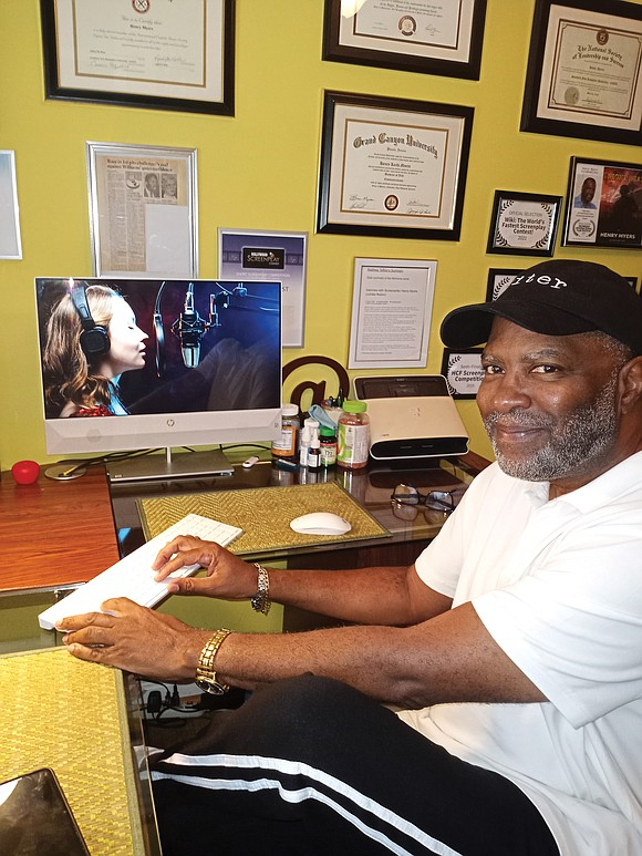 Henry K. Myers is realizing the dream of every amateur screenwriter – to see his words turned into a film.