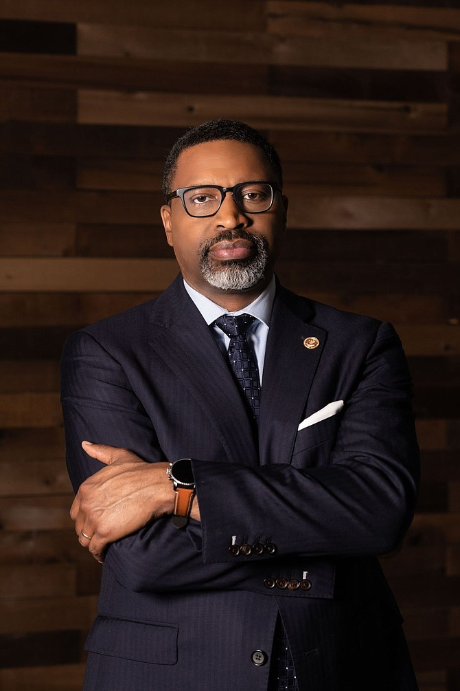 Derrick Johnson, president and CEO, the NAACP.  PHOTO © 2021, COURTESY NAACP