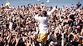 """A$AP Ferg performs onstage at """"Something in the Water"""" festival in April 2019 in Virginia Beach."""