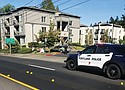 A street littered with bullets is a familiar scene for Portland Police investigating a shooting last month on Northeast 82nd Avenue that left a juvenile and adult suffering from gunshot wounds.
