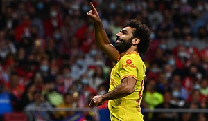 Liverpool narrowly edged past 10-man Atletico Madrid in an all-time classic Champions League encounter, as the two sides shared five goals in the Spanish capital. Mandatory Credit:GABRIEL BOUYS/AFP/AFP via Getty Images