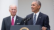 On April 14, 2020, President Obama endorsed Joe Biden For President. He noted Biden's leadership on health care, climate change, and the 2008 recovery, and said that he believes that Biden is the person who can heal the country in the wake of the COVID-19 outbreak.  With President Obama on our team, we're going to unite our party and restore the soul of the nation. Together, we will defeat Donald Trump.  Join our campaign: http://www.joebiden.com