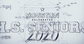 Mayor Sylvester Turner in conjunction with Houston First Corporation is excited  in sharing in a citywide celebration honoring Houston area high school seniors, Friday, June 5 at 6:30 p.m. Check out the star-studded lineup for the virtual video tribute that is the centerpiece of the event.