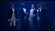 """Experience the original Broadway Production of Hamilton, streaming exclusively on Disney+ on July 3.   """"Hamilton"""" is the story of America then, told by America now. Featuring a score that blends hip-hop, jazz, R&B and Broadway, """"Hamilton"""" has taken the story of American founding father Alexander Hamilton and created a revolutionary moment in theatre—a musical that has had a profound impact on culture, politics, and education. Filmed at The Richard Rodgers Theatre on Broadway in June of 2016, the film transports its audience into the world of the Broadway show in a uniquely intimate way."""