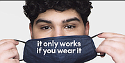 Gov. J.B. Pritzker launched a new awareness campaign designed to encourage people to continue to wear face coverings in public places.