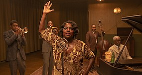 "Chicago, 1927. A recording session. Tensions rise between Ma Rainey (Viola Davis), her ambitious horn player (Chadwick Boseman), and the white management determined to control the legendary ""Mother of the Blues."" Based on Pulitzer Prize winner August Wilson's play.