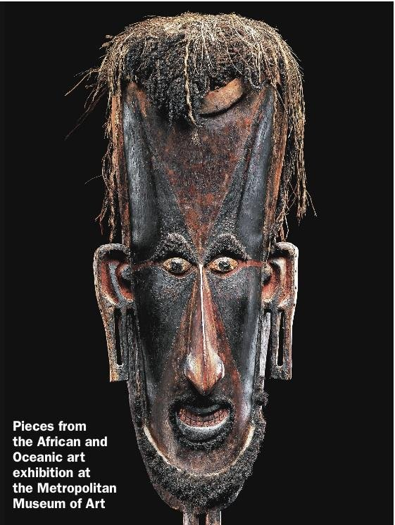 African and Oceanic art at the Met