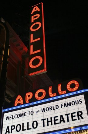 While the Apollo Theater is known for showcasing music and entertainment on its stage, an...
