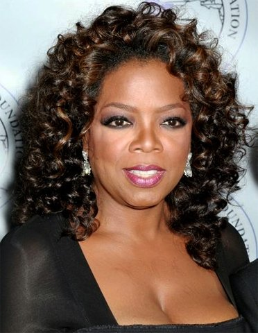 """I'm with her,"" says Oprah Winfrey."