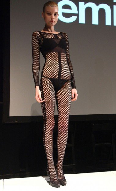 For fall/winter 2012, legwear designer Emilio Cavallini showed an out-of-the-box, sexy collection of tights and...