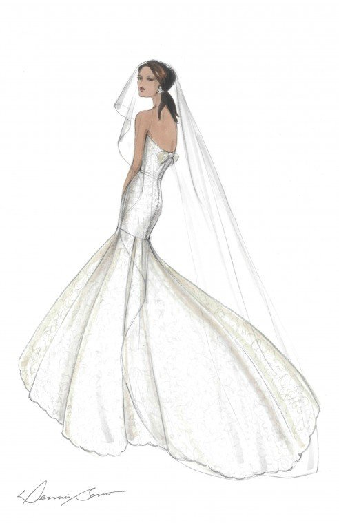 Just in time for New York's Bridal Market Week, Dennis Basso has signed a licensing...