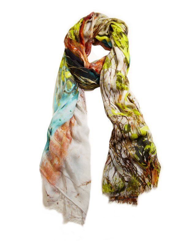 Spring's storytelling prints for scarves and dresses