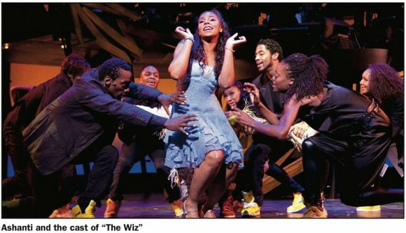 """The Wiz"" is absolutely wonderful. It's exciting to watch and the all-star cast is amazing...."