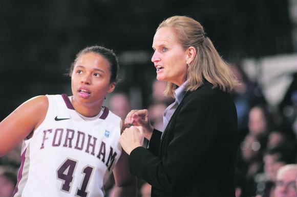 """I love a challenge,"" said Stephanie V. Gaitley, who was named the head coach of..."