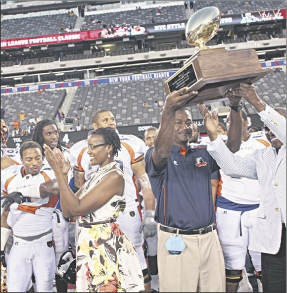 It's been 40 years and counting as the New York Urban League Football Classic once...
